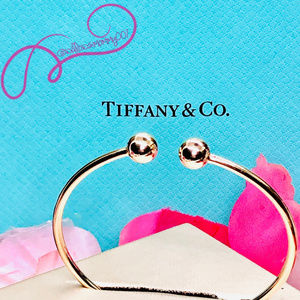 T&Co. 18K Rose Gold Tiffany HardWear Ball Wire BLT